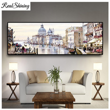 Large DIY Diamond Painting Abstract Venice City of Water Embroidery Beads Cross Stitch Full Square/Round Mosaic Decor FS4695 large diy diamond painting abstract venice city of water embroidery beads cross stitch full square round mosaic decor fs4695