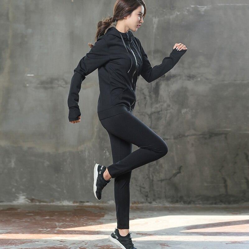 Esporte Terno Slimming Body Shaper Compressão Queimar