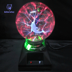 8 inch Magic Plasma Ball Sphere Lightn ing Crystal Globe Touch Nebula Light Home Furniture Lighting Decor Toys Gift