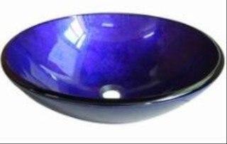 2012 vente chaude 100% en verre trempé nouveau Style couleur lavage de verre bassin évier ASTG002
