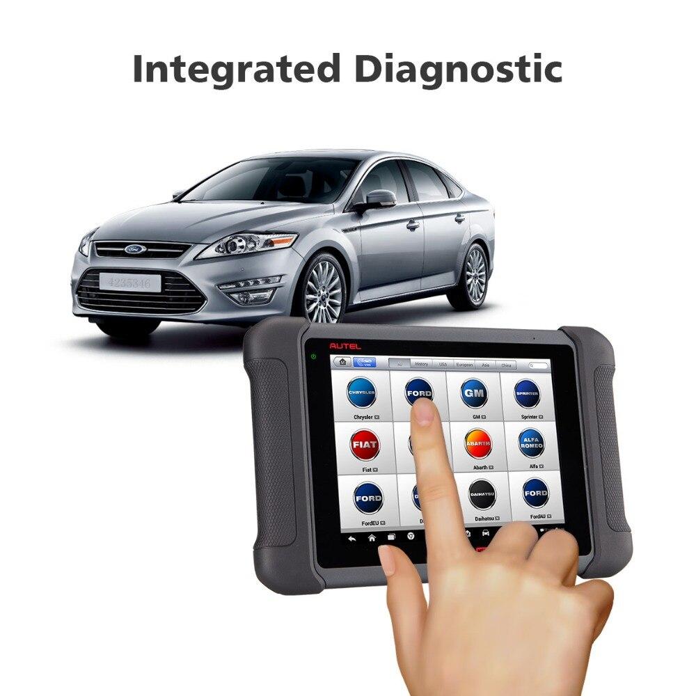 Image 4 - Autel MaxiSys MS906 OBD2 сканер автомобильный диагностический инструмент MS 906 ключ Программирование считыватель кодов OEM инструменты кодирование ключей
