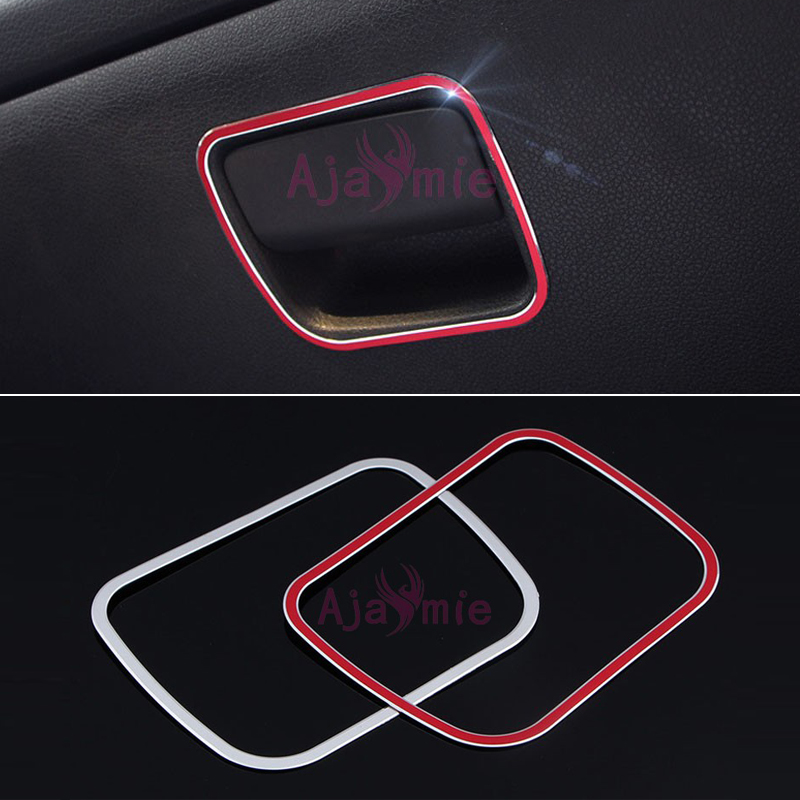 For Mercedes Benz GLA200 220 CLA A B Class B260 Glove Box Handle Cover Interior Moulding Trim Chrome Car Styling Accessories in Interior Mouldings from Automobiles Motorcycles