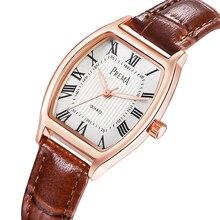 PREMA 2017 женщины часы Мода Женские часы Кожаный ремешок часы