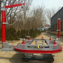Горячая Автомобильный стенд авто шасси аппарат для ремонта рамы принимаем специальные заказанные размеры марганцевая стальная платформа