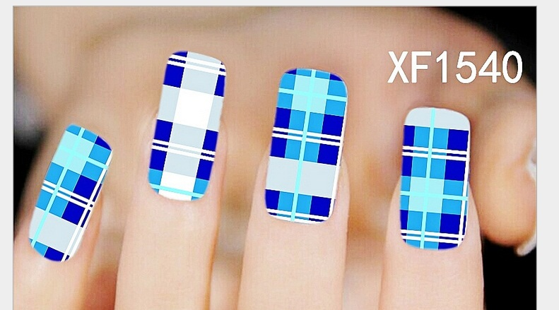 ᗑ】2018 Real New Arrival Nails Manicure 2 Sheet Watermark Nail ...