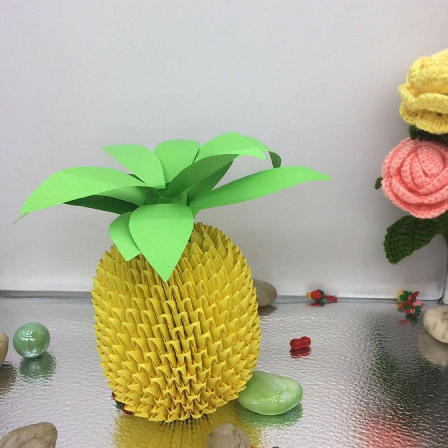 Scrapbook paper decor - Origami Paper Diy Pineapple Fruit Scrapbooking Paper Set Scrapbook Paper Quilling Colored Paper Craft And Scrabooking