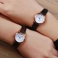 Luobos pequeno dial hot sale mulheres relógio moda relógios de quartzo de couro das senhoras estilo simples relógio de pulso relogio feminino 2017