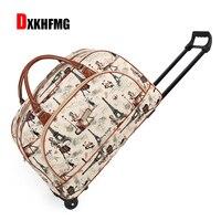 51e374ef973f1 ... Stripes Rolling Case Travel Bag On Wheels. US $56.88 US $30.15. 2018 Moda  Kadın Arabası Bagaj Haddeleme Bavul Marka Casual Stripes Durumda Tekerlekler  ...