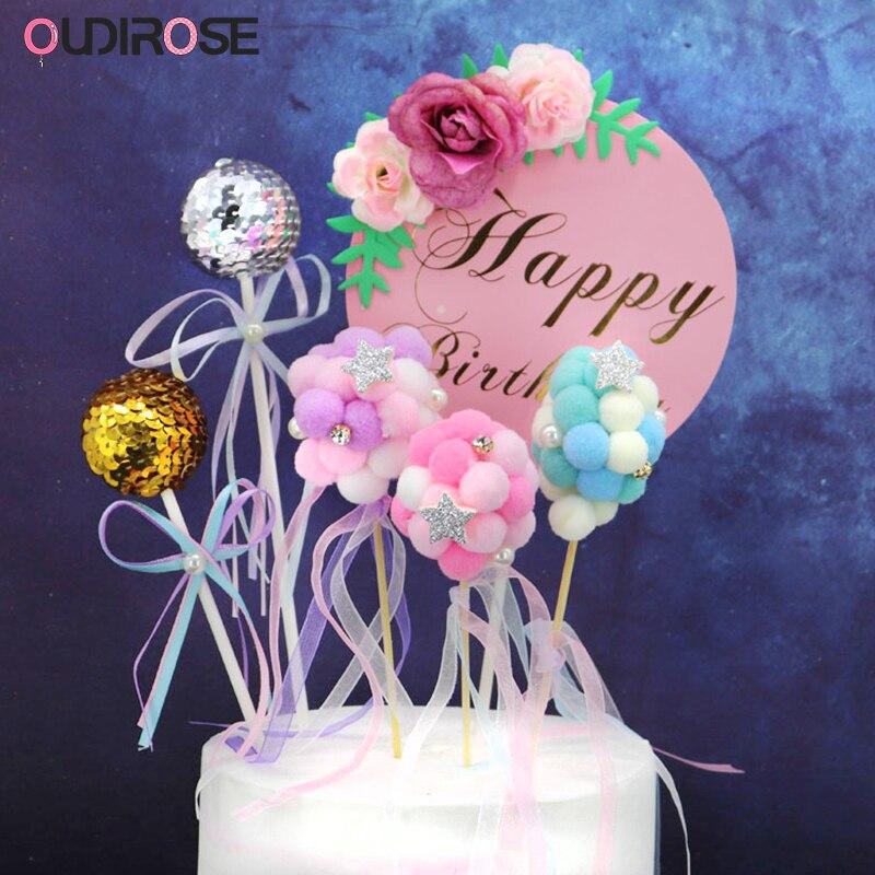 Fine Flower Cake Topper Birthday Cake Topper Frozen Cake Topper Blue Birthday Cards Printable Opercafe Filternl
