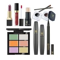 Huamianli Makup Tool Kit 9 STÜCKE Müssen Kosmetik Einschließlich Concealer Creme Eyeliner Lippenstift Mascara Lipgloss Make-Up Set