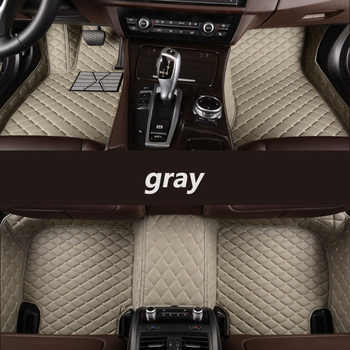 Custom car floor mats for Volkswagen VW passat golf touran tiguan sharan jetta Variant UP Multivan Scirocco magotan Phaeton polo