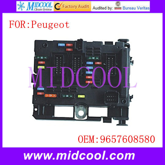 New Fuse Box Unit Assembly use OE NO 9657608580 for Peugeot 206-in