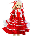 [wamami] 140# Red Dress/Clothes 1/3 SD BJD Doll Dollfie