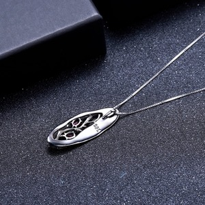 Image 4 - GEMS bale 1.2Ct doğal Rhodolite Garnet yazılı kolye 925 ayar gümüş orijinal el yapımı kolye kolye kadınlar için