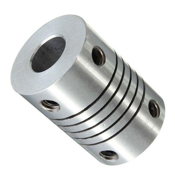 25 Sizes 2-10mm Aluminum Flexible Shaft Coupling Rigid Coupler Motor Connector