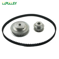 LUPULLEY XL Reduction 3 1 Timing Belt Pulley 60T 20T Shaft Center Distance 80mm With 148XL