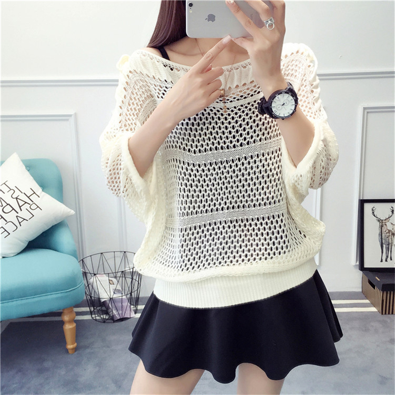 Strict Long Sleeve Knitted O-neck Women Sweaters And Pullovers Jumpers Ladies Sweaters Woman Fashion 2019 Autumn Winter Sweater Top G36 Pullovers Sweaters