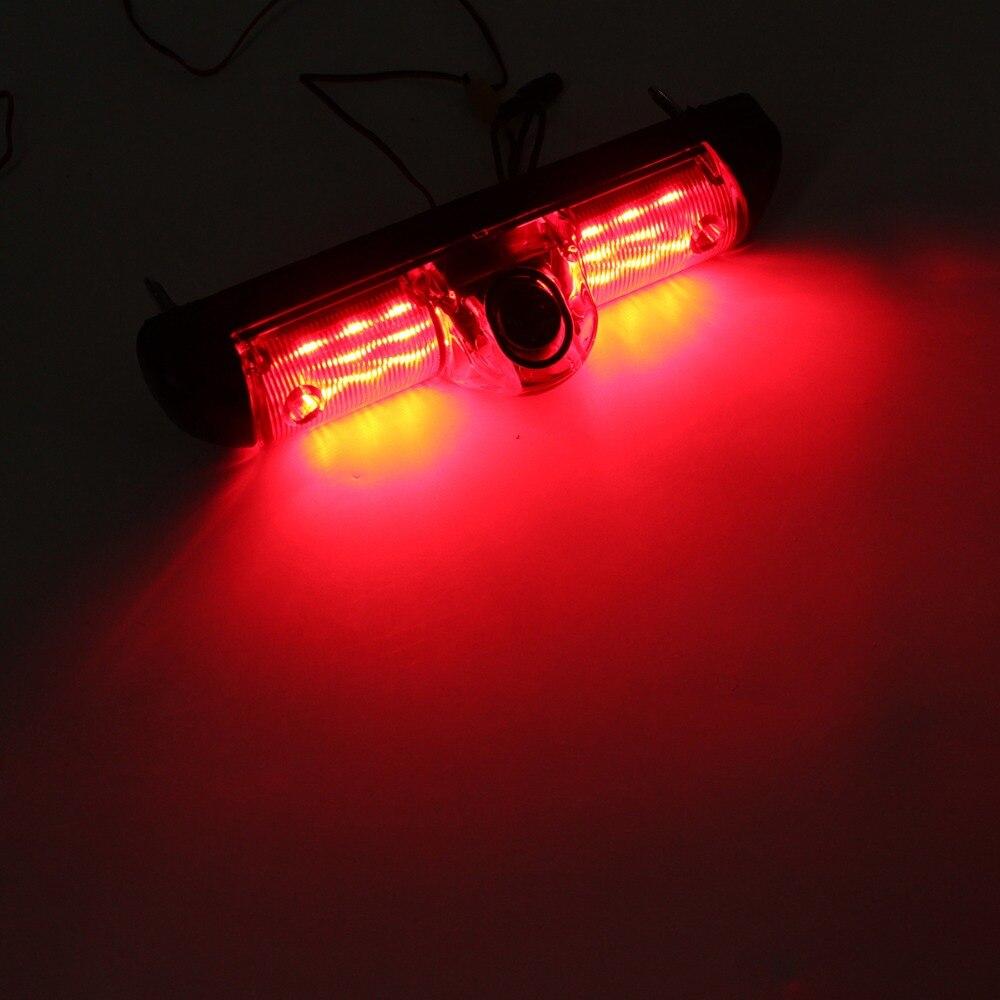Автомобильный 3 й тормозной Светильник ИК ночного видения камера заднего вида IP68 Водонепроницаемая камера для peugeot Boxer Citroen Jumper Fiat Ducato - 4