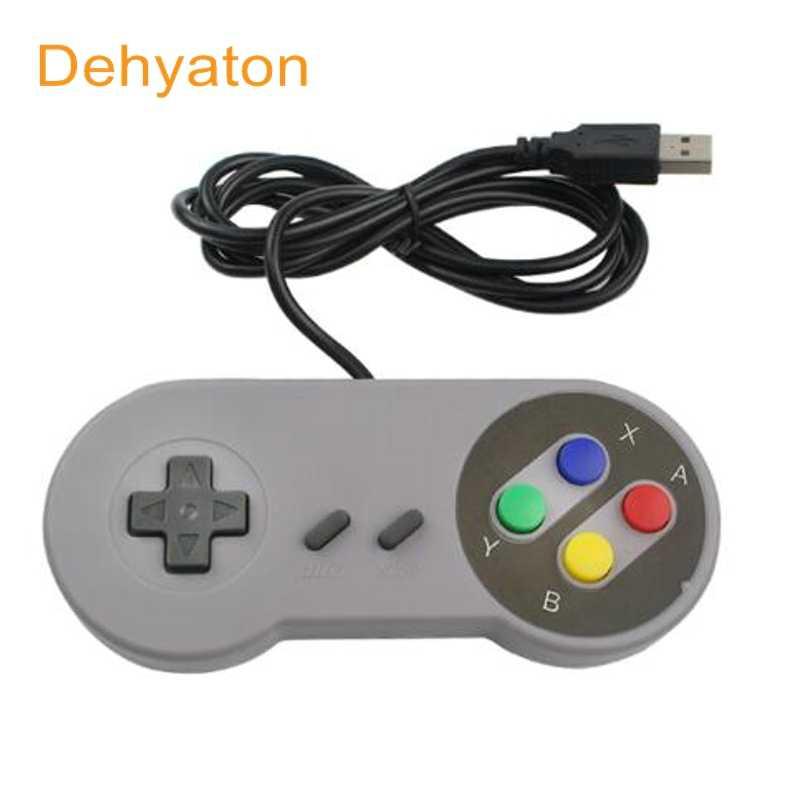 Контроллер для Ретро Классический usb-контроллер контроллеры ПК геймпад джойстик Замена для супер Nintendo SF для SNES