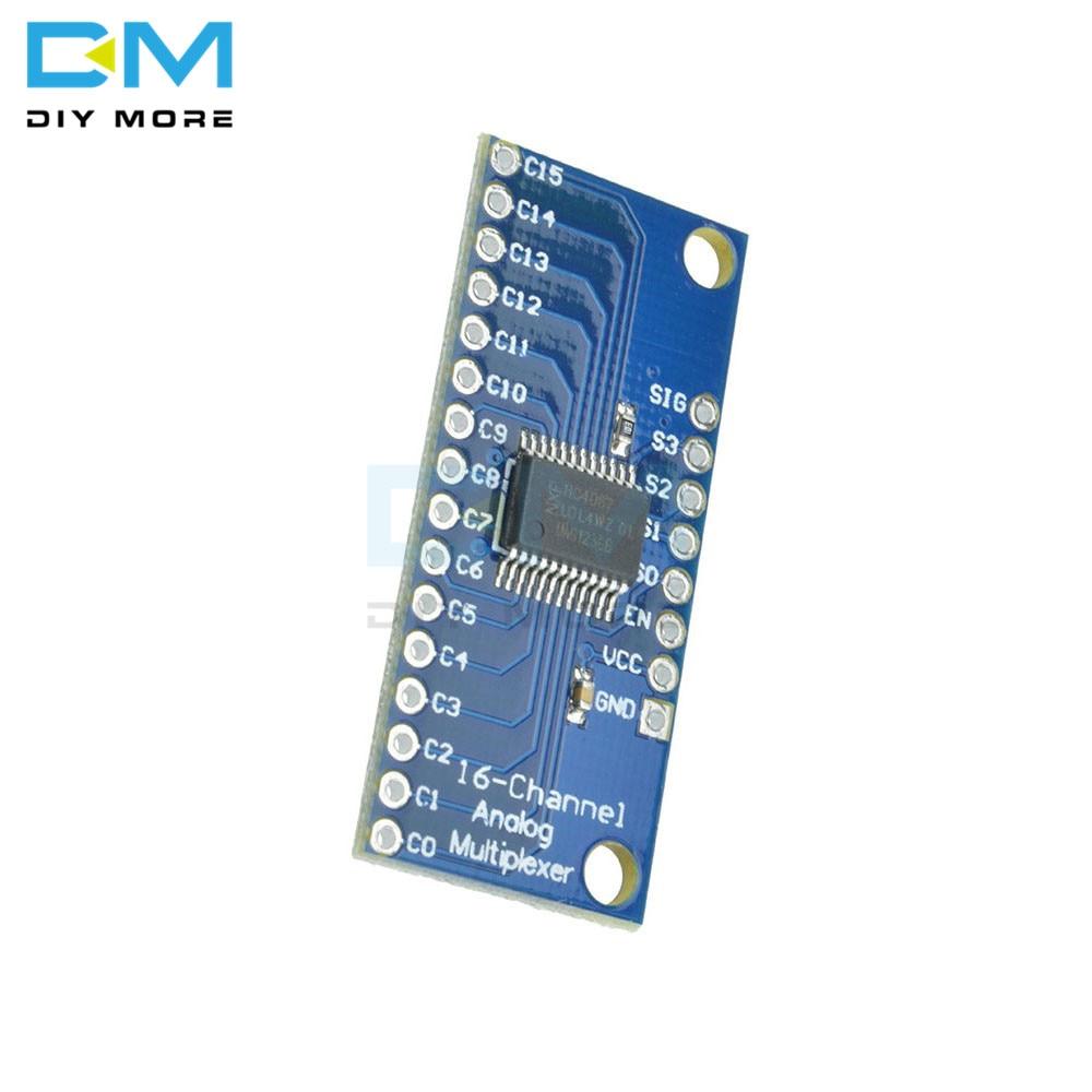 16CH Analog Digital MUX Breakout Board CD74HC4067 Precise module ArduinODCAci