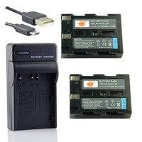 DSTE 2PCS D LI50 Li Ion Battery UDC11 USB Port Charger For Pentax K10D K20D MINOLTA