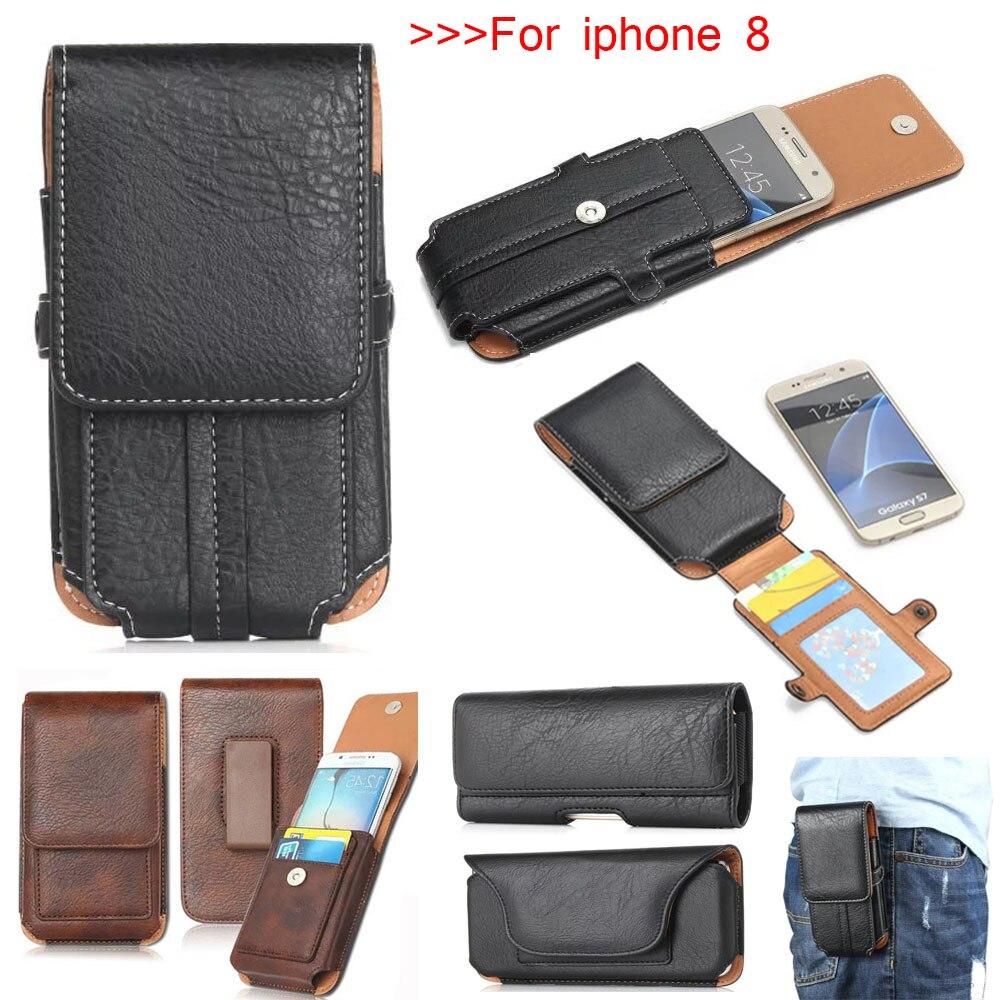 4 стиль, для apple iphone 8 наивысшего качества пояс спортивная сумка горизонтальная + Вертикальная чехол для мобильного телефона + карта карман дл... ...