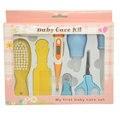 10 pcs set bebê cortador de unhas cuidados aliciamento de crianças do agregado familiar termômetro digital saúde diária conveniente cuidados com o bebê escova de cabelo terno