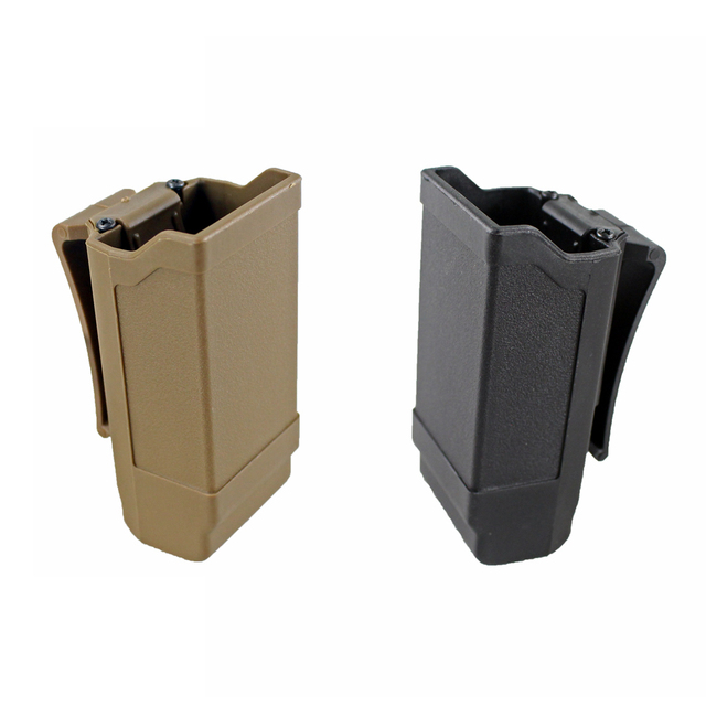 Tactical Mag Holder CQC Double Stack Magazine Holster for Glock 9mm Caliber Mag