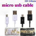 1300pcs/lot 3FT 5 pin Micro USB Cable 2.0 Data sync Charger charging cable For Samsung galaxy S7 S6 Note 6 For HTC  Blackberry