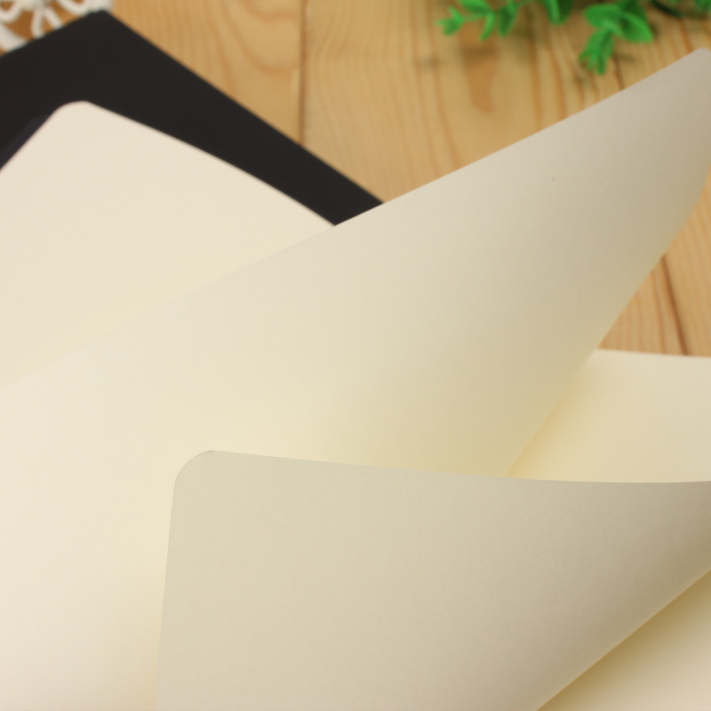 Купить с кэшбэком A5 B5 Black Notebook Stationery Blank Inner Paper Planner Sketchbook Vintage Diary Book Graffiti School Office Supply Papelaria