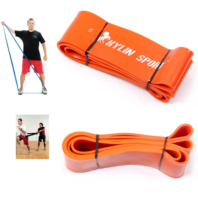 new hot elastic resistance strength power bands fitness equipment for wholesale and free shipping kylin sport