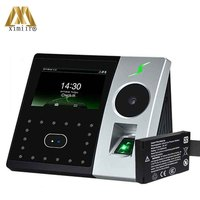 New Arrival Pface202 Multi Biometric Palm Time Attendance Face And Fingerprint Door Access Control With Back Up Battery