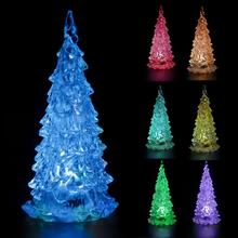 hot sale new year Colorful Mini Changing LED Night light Lamp Decoration Mini Xmas Gift For