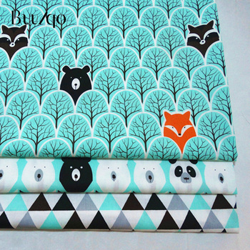 buulqo 100% cotton twill Quilting fabric by half meter  for  textile tecido tissue patchwork bedding sheet 100x160cm pure cotton fabric cloth for baby bed sheet patchwork quilting twill bedding cartoon fabrics diy dolls sewing textile