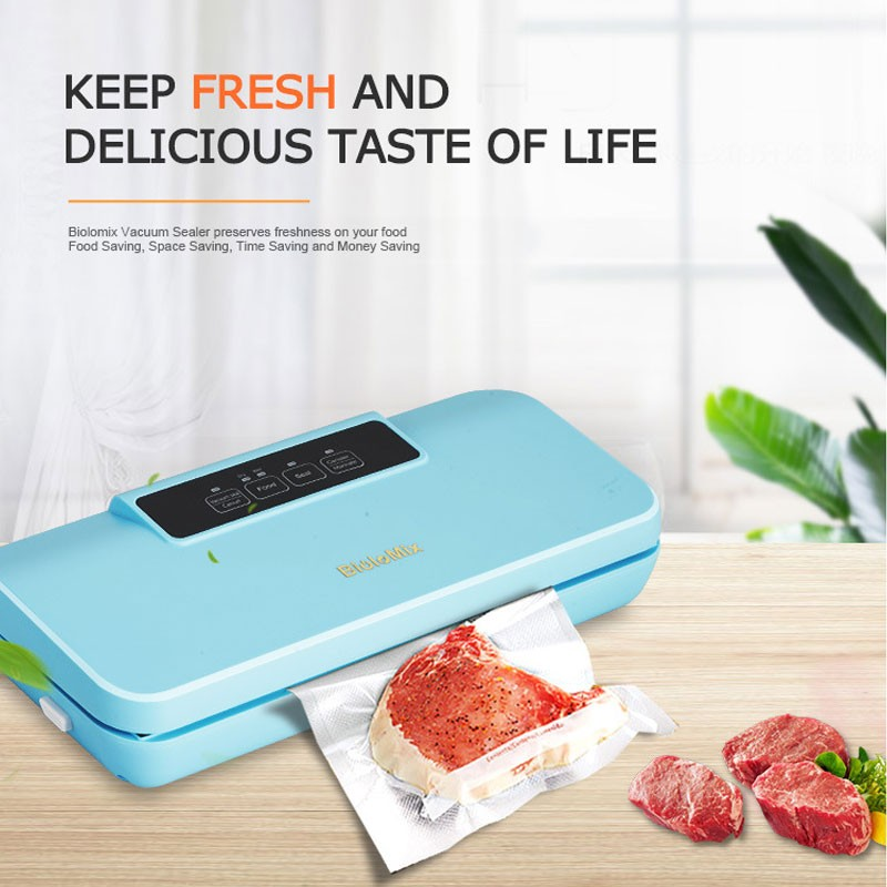 Automatic Vacuum Sealer Machine Upgraded Automatic Food Packing Machine with 10pcs Vacuum Bags Automatic Vacuum Sealer Machine Upgraded Automatic Food Packing Machine with 10pcs Vacuum Bags