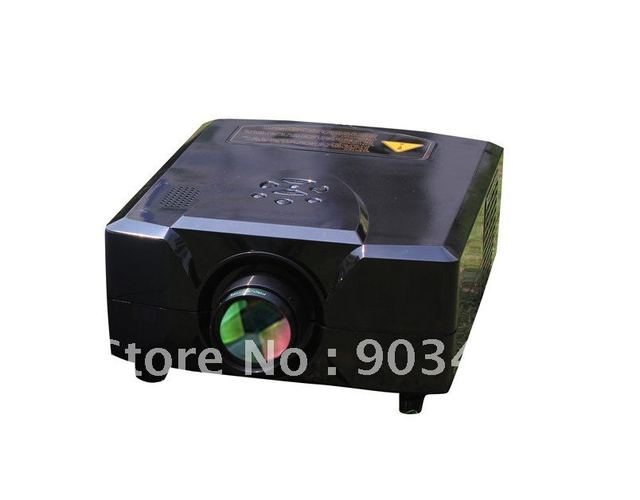 As Valentine Day gift! Mini LCD TV projector full hd the BEST home cinema 3d projector/projektor/beamer  with 2hdmi +2usb