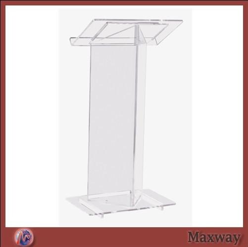 The sanctity of the church acrylic podium