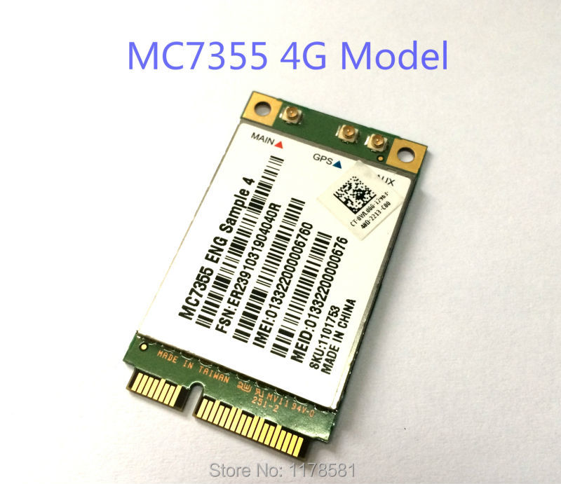 MC7355 Sierra Wireless Mini PCI-E LTE 4G QUALCOMM WCDMA GSM GPRS GNSS Module stock huawei me936 4 g lte module ngff wcdma quad band edge gprs gsm penta band dc hspa hsp wwan card