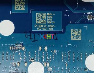Image 5 - עבור Dell Alienware 15 R3 17 R4 RNF7V CN 0RNF7V BAP10 LA D751P i7 7700HQ N17E G2 A1 GTX1070 8 gb האם Mainboard נבדק