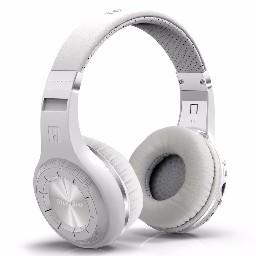 Headphones Bluedio Hurricane H+ Plus Bluetooth 4.1 Wireless Headphone Support TF Card FM Radio