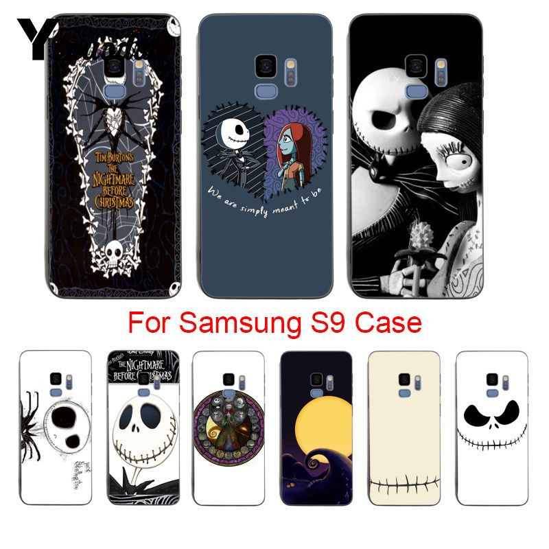 Nightmare Before Christmas Phone Case.The Nightmare Before Christmas Phone Case Cover For Samsung Galaxy S8 S7 Edge S6 Edge Plus S5 S9plus