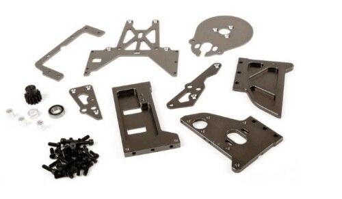 Kit de support de montage de moteur de changement de gaz à Conversion pour 1/5 KM Rovan HPI Baja 5B 5 T SS rc pièces de gaz de voiture