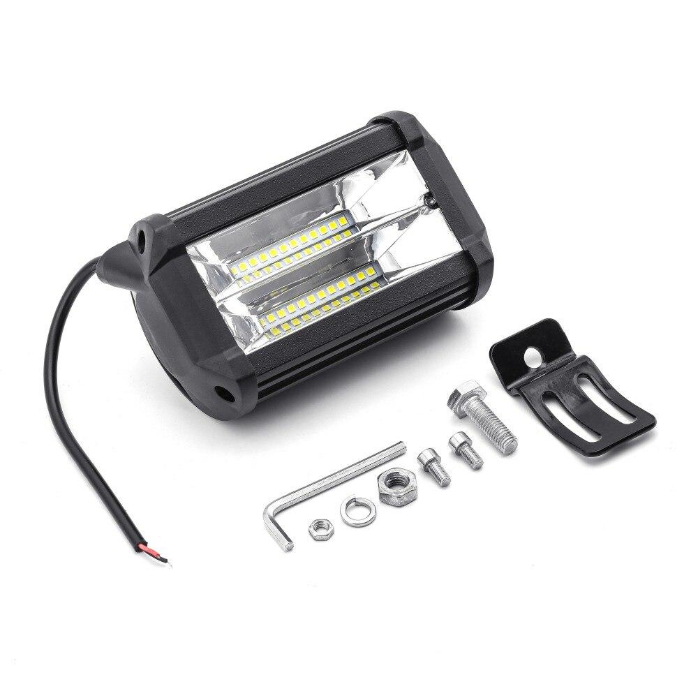 Car LED Work Light 12V Work Lamp Tractor Work Light Bar 48W 6000K LED Chip 5 inch Auto Lamp Bulb for bmw e46 light