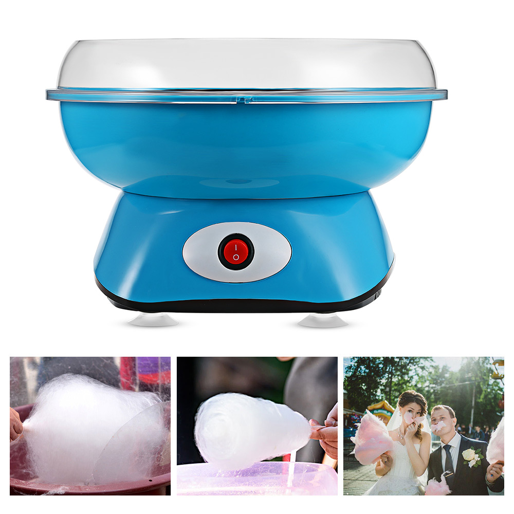 Electric DIY Cotton Candy Maker Machine Food Processors Kitchen home Appliances 220-240V For Parents with kids 2018 new arrivalElectric DIY Cotton Candy Maker Machine Food Processors Kitchen home Appliances 220-240V For Parents with kids 2018 new arrival