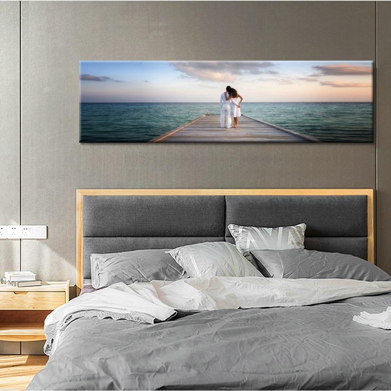 Affiche ballon jaune décoration nordique Art maison toile peinture amant Couple citations Art mur photos pour salon encadré