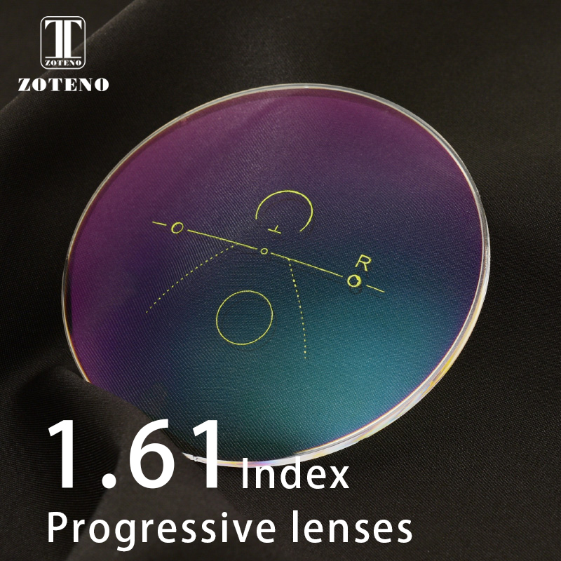1 61 Index Progressive Lenses Free Form Multifocal Aspheric Resin Optical Prescription Eye Glasses Lenses