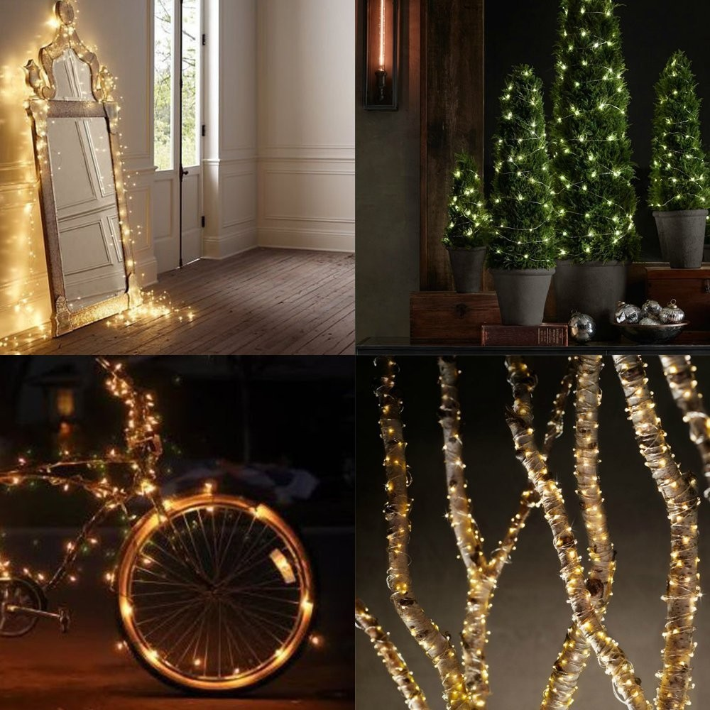 10m Waterproof Multi Colored Copper Wire LED String Lights Fairy ...