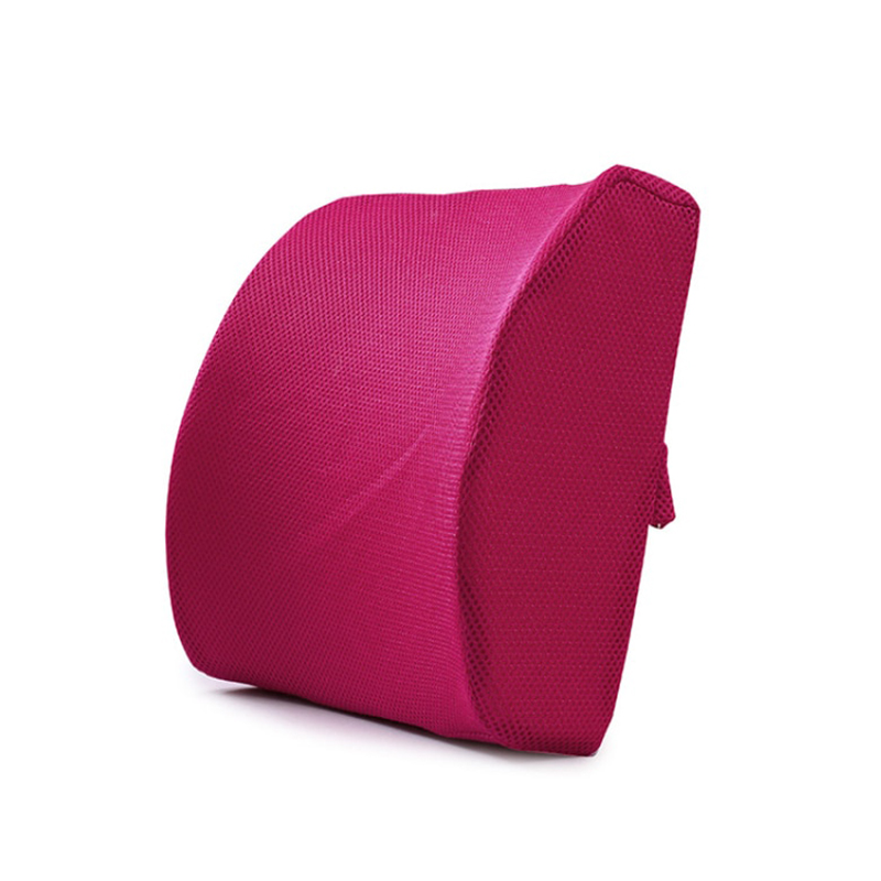 Soft Memory Foam Lumbar Support Back Massager Waist Cushion Pillow for Chairs In The Car Seat Pillows Home Office Relieve Pain