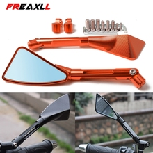 Universal Motorcycle Mirror Side Rearview Motorcycle Accessories FOR KTM DUKE200 DUKE390 DUKE690 DUKE990 RC200 RC200 RC390 цена