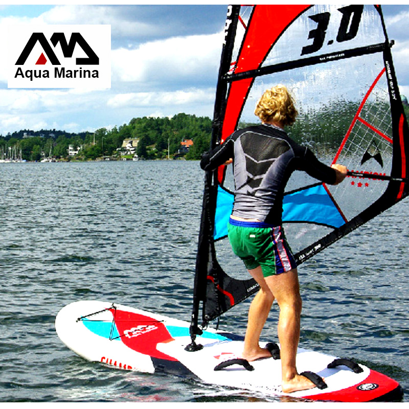 sailboard surf board AQUA MARINA CHAMPION Stand up paddle board boat Inflatable Sup Surfboard windsurf sail board whole set bag inflatable stand up paddle board inflatable sup board inflatable paddleboard